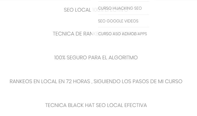Seo Local Blackhatseo